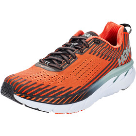 Hoka One One Clifton 5 Running Shoes Herre nasturtium/phantom
